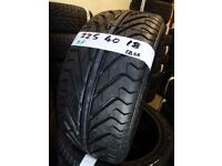 SET OF 4 BRAND NEW 225 40 18 run/flat tyres £55 EACH SUP & FITD OR £200 SET OF 4 TXT SIZE TO