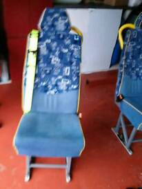 Bus Seats / Van seats 14 fitted seat belts unmarked £300