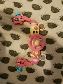 Mothercare pushchair sound toy