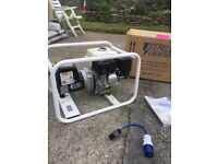 Stephill GE3300 Compact Petrol Generator 2.6kW/3.3kVA - Without Trolley Kit