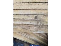 Paving Slabs for sale 60 x 60cm 4cm thick. used but in good condition 16 to sell. only £1 each