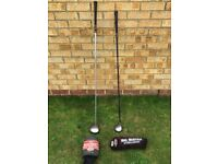 Callaway Biggest Big Bertha Driver and 3+ Wood with Headcovers.