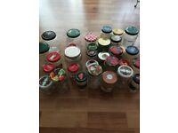 Jars 31 for preserves etc...