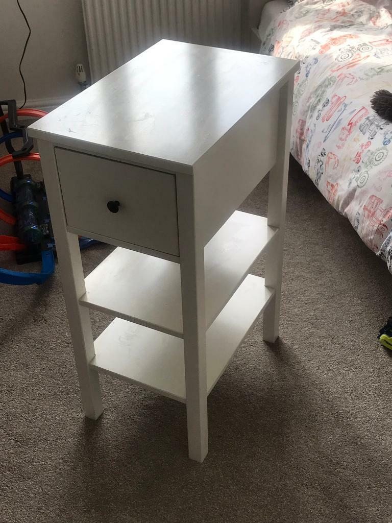 on sale c5be7 e111e IKEA HEMNES BEDSIDE TABLE WITH DRAWER   in Huddersfield, West Yorkshire    Gumtree