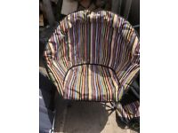 Outwell & gelert moon chairs in great condition with bags