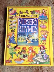 Children's nursery rhymes book