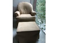 Rocking Armchair with stool, Amazing for chilling and relaxing