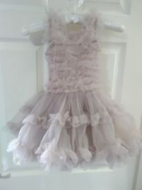 girls tutu party dress age 3 years STUNNING worn once