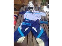 Thor racing motocross full kit