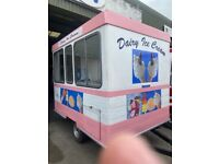 Whitby softer ice cream trailers