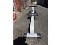 Crane Sports rowing machine. VGC. Monitor, pulse, etc. Folds for storage