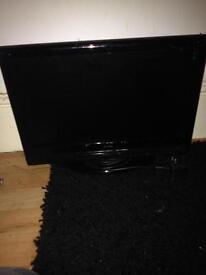 Black 24 inch Alba TV