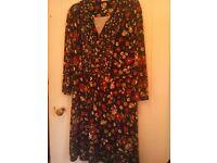 Ladies JOE BROWN floral dress, floaty, size 18, new