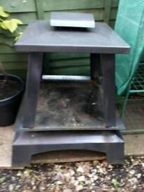 Chiminea / outside log burner