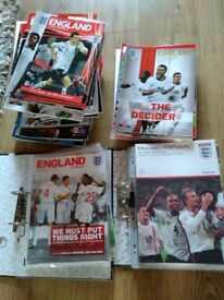 Big England football programme bundle