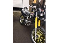 suzuki dr350 enduro bike