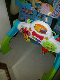 2 in 1 Walker&sit down toy