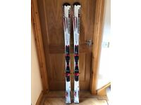 Rossignol Zenith 2.5 GS carbon skis with Rossignol 110 bindings 162cm used