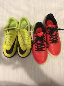 Kids football trainers size 2.5+ 3