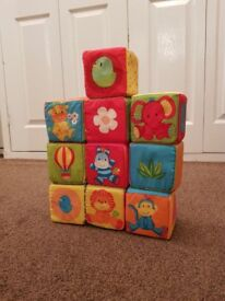 Mothercare Soft Baby Cubes
