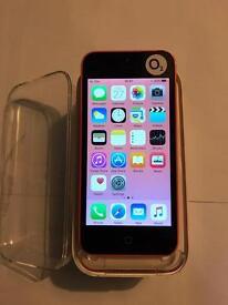 iPhone 5c 16gb on 02