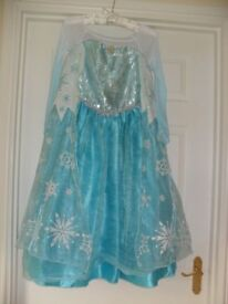Original Disney Store Elsa & Anna Costumes age 9-10 years.