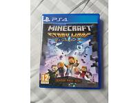 PS4 Minecraft Story Mode Season Pass Disc
