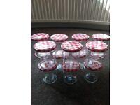 Jam jars, Bonne maman, 14 empty and washed