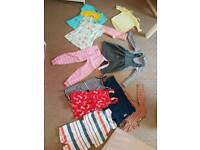 Bundle of girls clothes 3-4 years