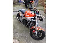 Ginger Zx7r Ninja / street fighter / Bobber
