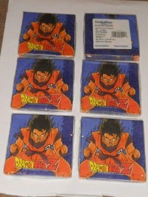 6-16pk Dragon Ball Z Paper Dessert Napkins Children Birthday Party Supplies USA