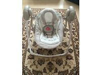 Comfort & Harmony Portable Baby Swing
