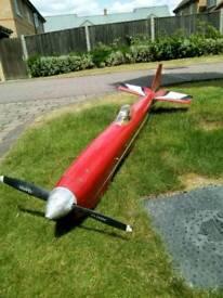 R/C airplane fuselage