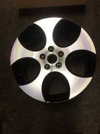Golf GTI alloy wheel