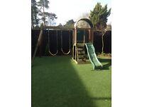 Andorra play system/ swing & slide set