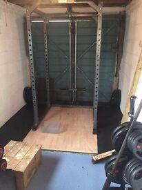 Squat Rack/ Lat Pulldown/ Bench (Home gym)