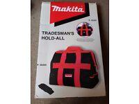 Makita heavy duty tool bag Holdall P46305 BRAND NEW BOXED