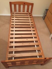 Toddlers Pine Single Bed Frame