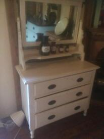 Old dresser with mirror