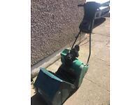 Qualcast petrol Suffolk punch lawnmower