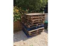 Pallets and Fire Wood