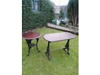 Garden/Pub tables