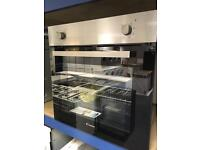 Candy brand new single integrated fan oven