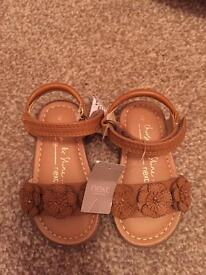 Next toddler girls sandals size 4