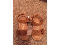 Next toddler girls sandals size 4