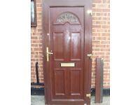 Brown Door UPVC