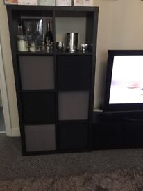 Black gloss tv stand / unit / cabinet