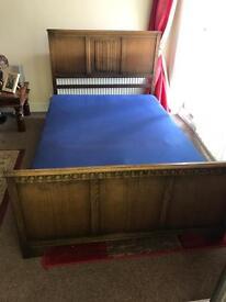4ft vintage bed