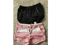 Ladies shorts size 8