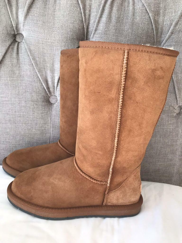 271ed0533b98 Tall Australian Ugg boots Chestnut BRAND NEW